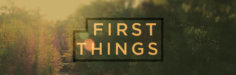 Question-FirstThings